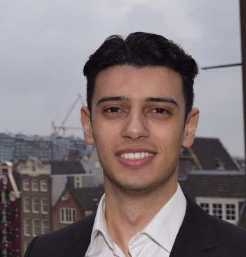 George Kelada (2e jaars Business Administration aan de UvA)